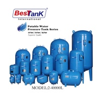 BESTANK 2-40000lt water pressure tank Pressure Vessel expansion Tank expansion vessel water pump tank