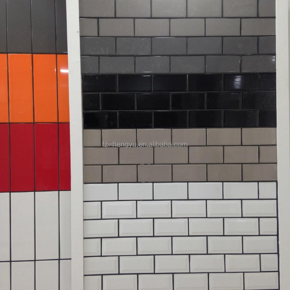 Mejor venta 75x150mm ceramica wall tile azulejos de metro - Azulejo tipo metro ...