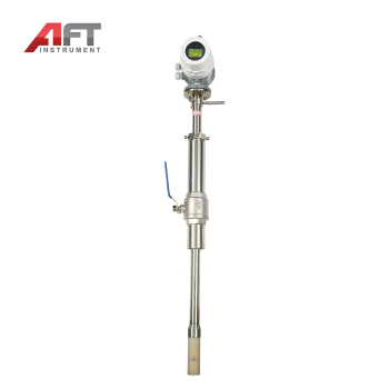 GPRS insertion liquid magmeter with the antenna