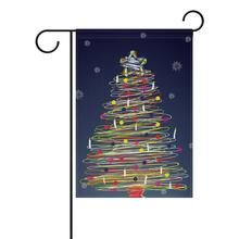 28inx40in Angepasst Druck Santa Claus Polyester Garten <span class=keywords><strong>Flagge</strong></span>