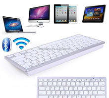 Ultra thin Slim Bluetooth 2.0 Wireless Keyboard Keypad for iPad , iPhone, PC , Laptop Desktop Netbook,Tablet,Mobile Phone