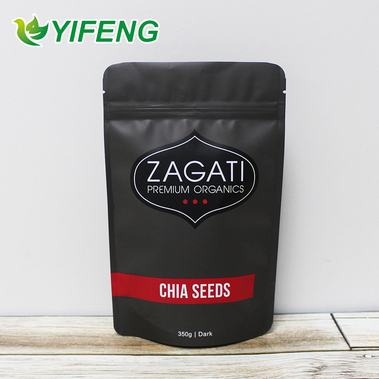 Peanuts Plastic Stand Up Pouch Oat Zipper Mixed Fries Food In Dried Vacuum Bag For Cashew Nuts Packaging