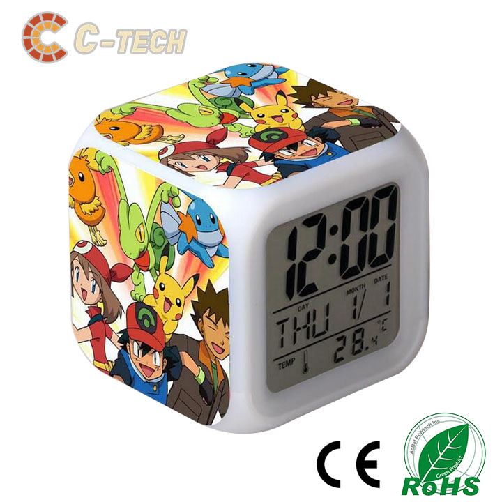 Wholesale Digital Led Projector Clock With Backlight from C-tech Company
