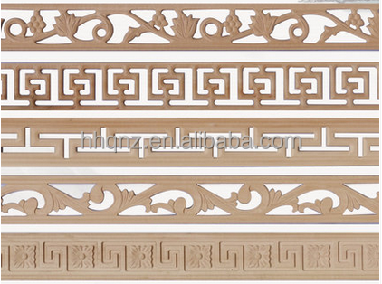 carved wood strips