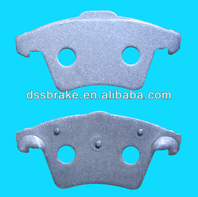 Auto spare car parts brake pad plate D1174 for VW