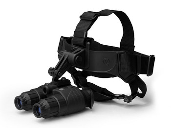 Pulsar Edge GS 1x20 NV Goggles with compact head mount wide-angled IR illuminator night vision binocular riflescope for hunting