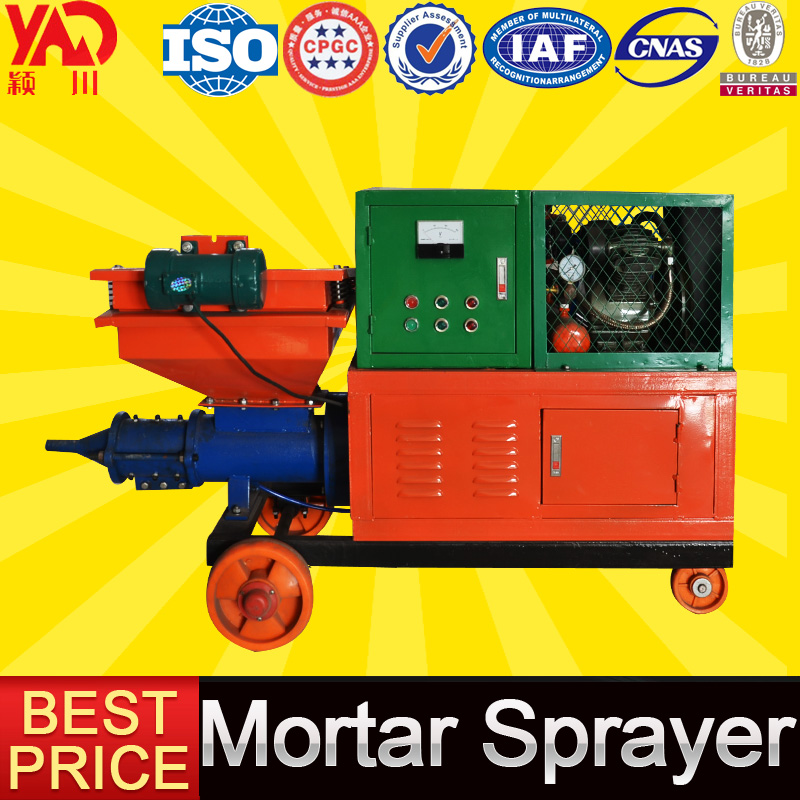 Building Construction Equipment Mortar Mixing Spraying Levee Diesel Concrete Plastering Machine