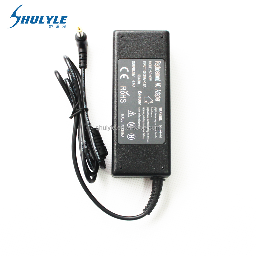 Universal Laptop Charger 90W Notebook Power Adapter 19V 4.74A Laptop Adapter
