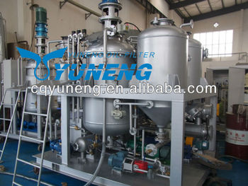 Waste or used motor oil or engine oil regeneration plant for Waste motor oil to diesel