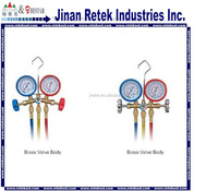 Refrigeration parts R12 manifold gauge