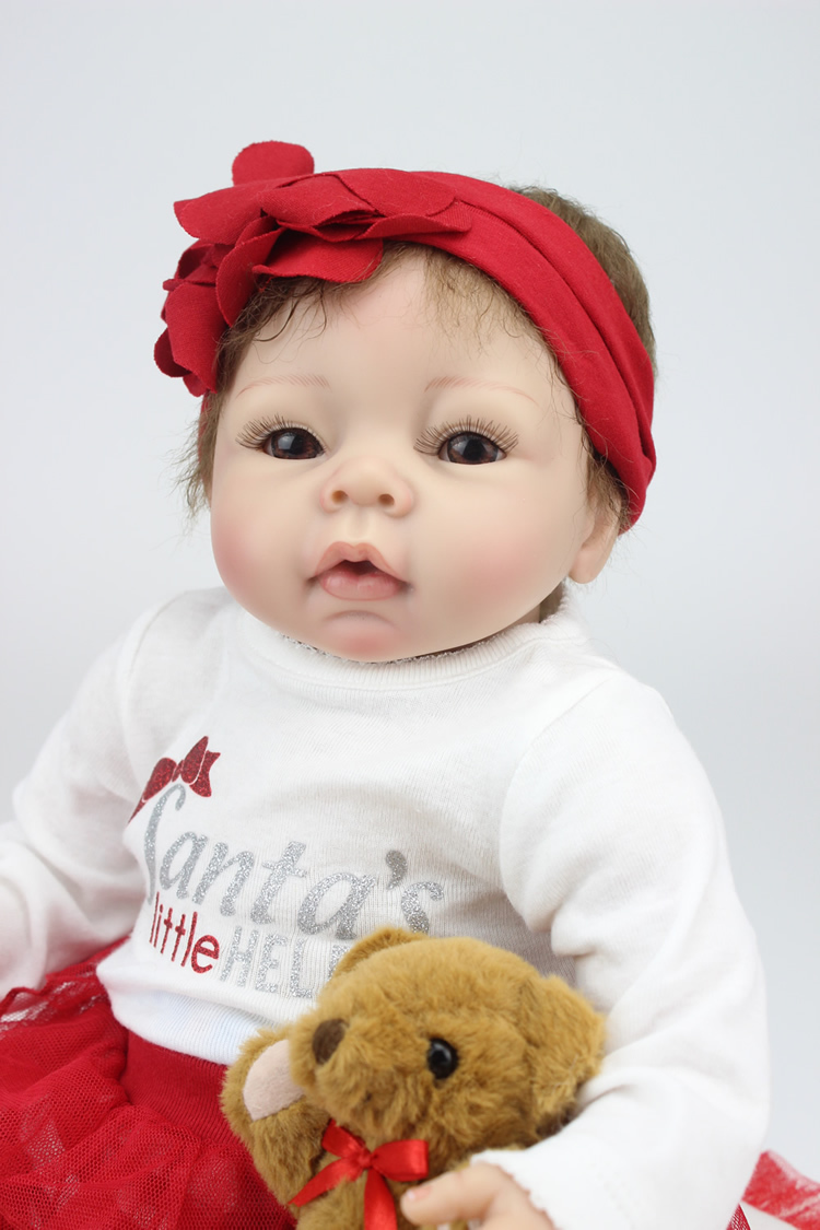 Full body silicone baby for sale 2015 - Npk Doll Silicone Reborn Baby Dolls For Sale 22 Inch Cloth Body Silicone Baby For Sale