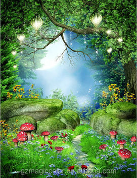 fantasy natural scenery picture design wallpaper for home wall