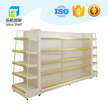 2017 Letuo new design steel rack store fixture online shop