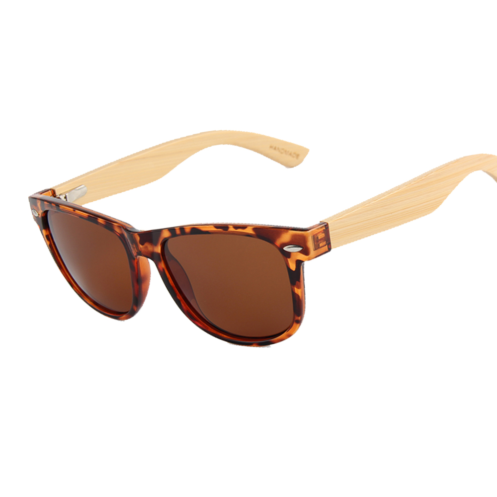 Shenzhen Wholesale Cat.3 Polarized Bamboo Sunglasses for boy and girl