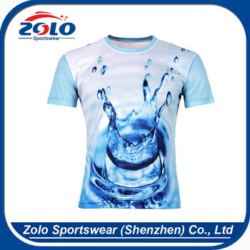 Factory direct supplier children fashion sublimation t-shirt wholesale