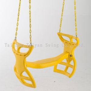 Outdoor Plastic Horse Glider Swing