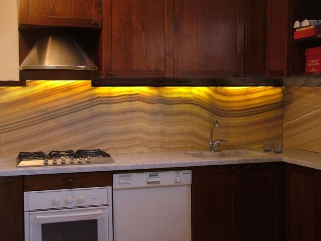 Newstar Kitchen Tile Backsplash Onyx
