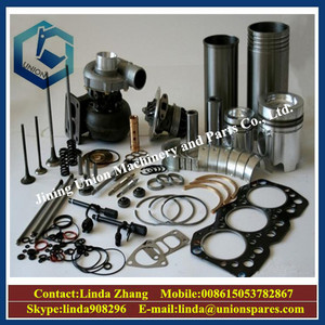 OEM factrory price small excavator China 4g13 4g18 4g33 4g63 6d24 for  mitsubishi diesel engine parts