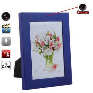Picture Frame Hidden Nanny HD Video Camera / Microphone with Motion Detection Feature