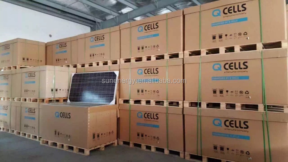 300w Q Cells Solar Panels Made By Germany Technology Q Pro