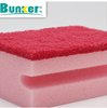 dish washing sponge scrubber with side slot