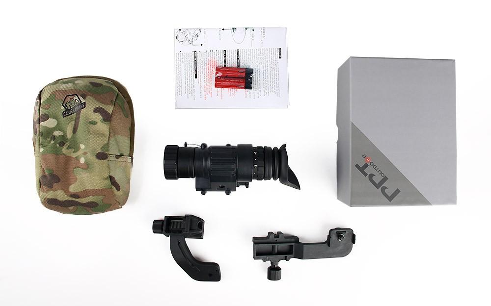 Canislatrans op digitale nachtsichtgerät taktische helm