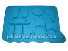 unique design car shaped silicone bakewave mould