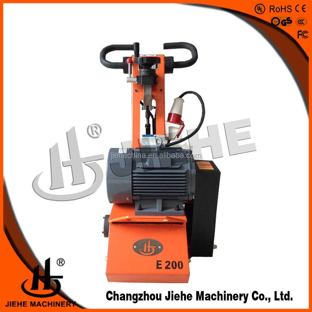 Concrete remover manual concrete floor road sweeping cleaning machine(JHE-200E)