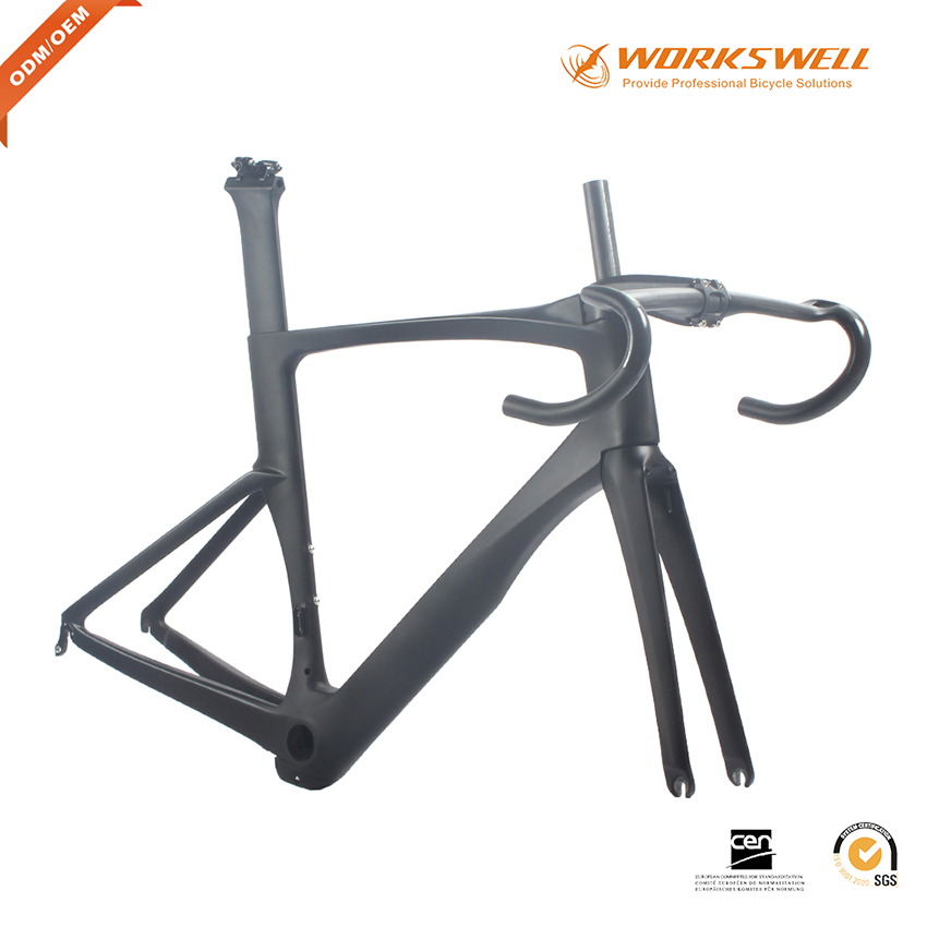 High quality carbon frame T1000 Toray carbon road bicycle frame