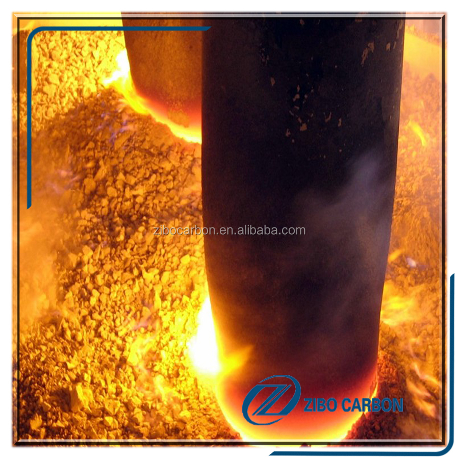 Good thermal conductivity graphite electrodes for EAF