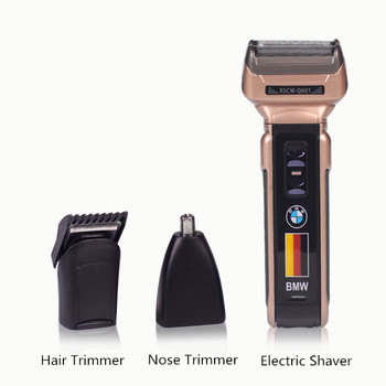 9ef3a21f8 Máquina de Cortar Cabelo profissional Aparador de Pêlos Sem Fio Conjuntos  de Barbeador Barbeador Elétrico Aparador