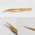 Personalized  gold Volume lash Tweezers for Eyelash extension