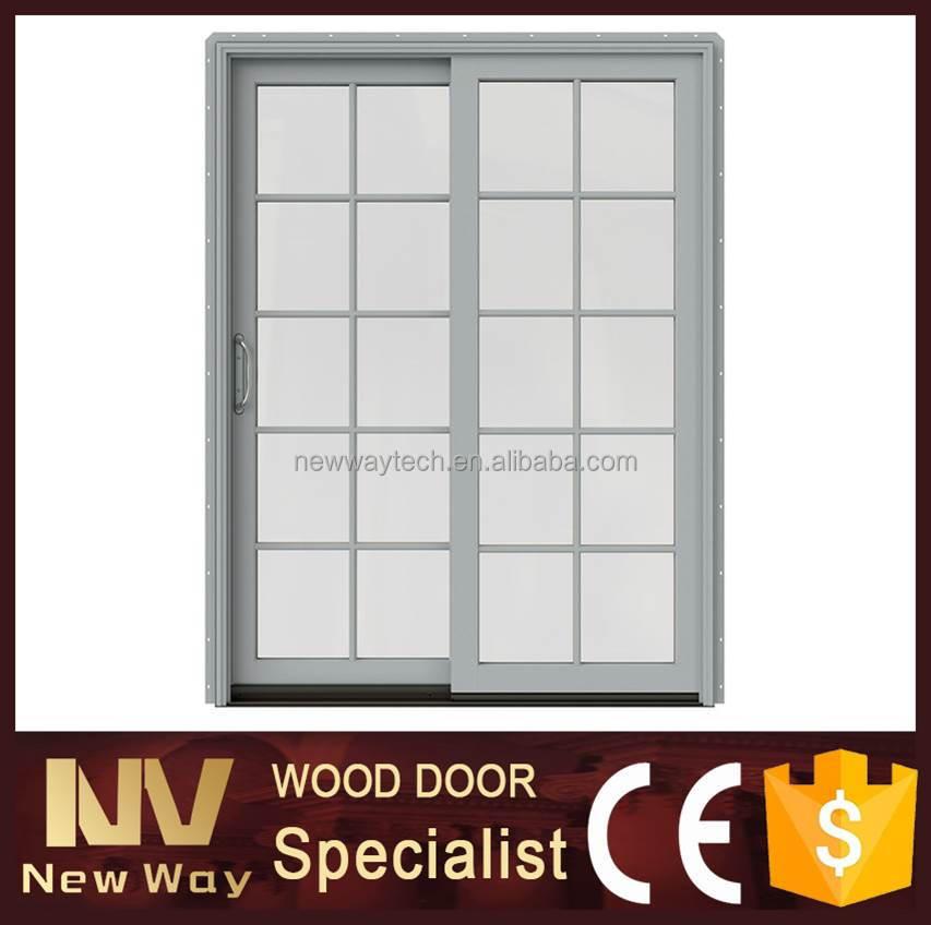 doble hoja de la puerta de vidrio con temper glass modelos de puertas y ventanas