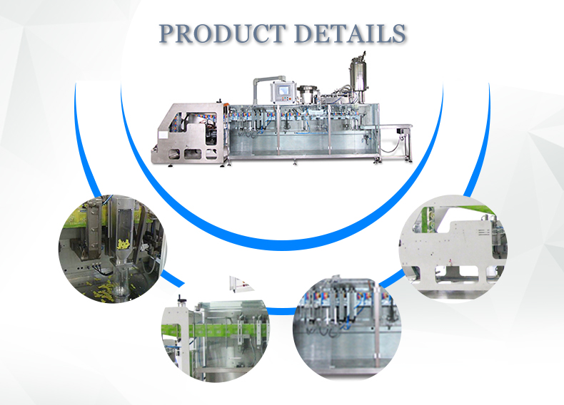 Factory Price Vertical Molasses Packaging Machine biscuit pouch filling equipment