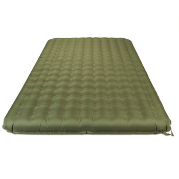 Camping Sleeping Air Mattress Mat 2 Person Inflatable single Double PVC Free Air Bed Pad king size airbed with Operated Pump
