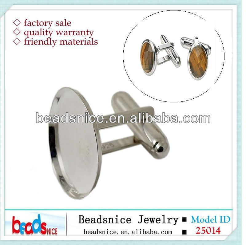 Beadsnice antique style silver oval gemstone blank wholesale ring setting without stones ID 31775