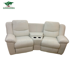 High Quality Germany Modern Sofa Bed Electric Recliner Couch With Cup Holders