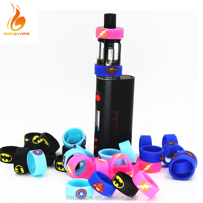 Emboss Logo Silicone Decorative Atomizer Ring With Factory Price