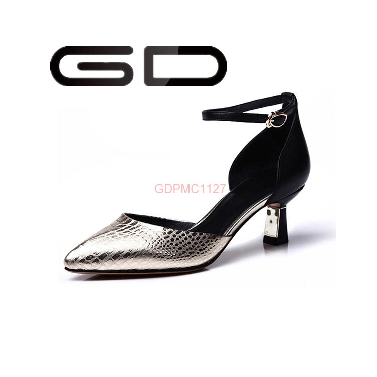 new fashion high heel shoes ODM OEM High Quality Patent women High Heel Dress Pump Shoes