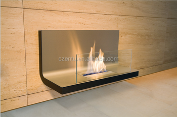 Best Price Modern Real Fire Wall Decor Fireplace More Safe Than Gas