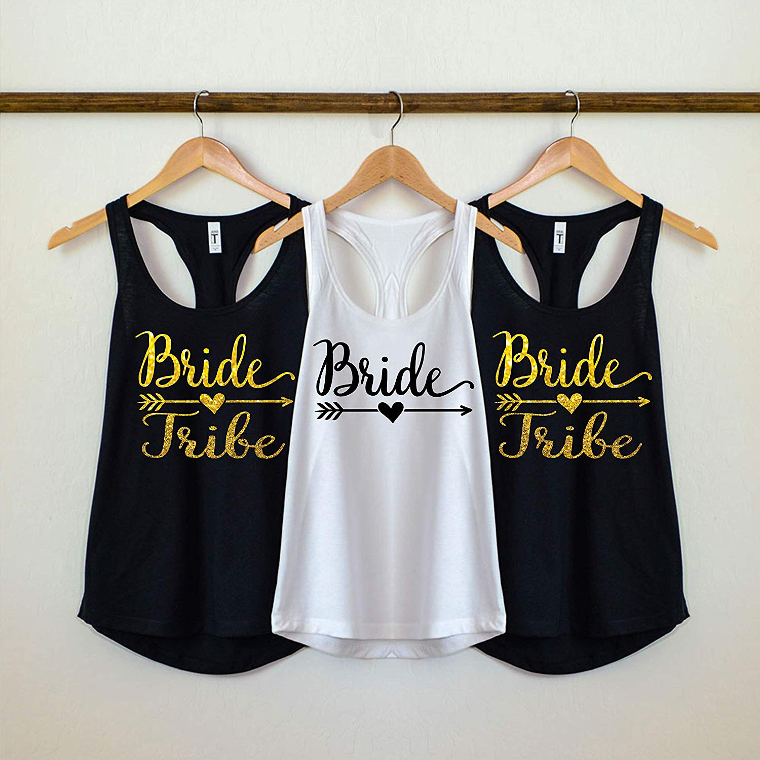 7cf9585f1f2 Get Quotations · Bride Tribe Tank Top