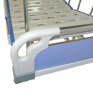 hospital high quality abs duplex bed/hospital with commode metal panel bed MB-06N