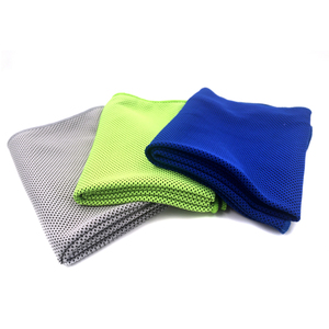 Microfiber workout gym sport pva instant sweat cooling towel