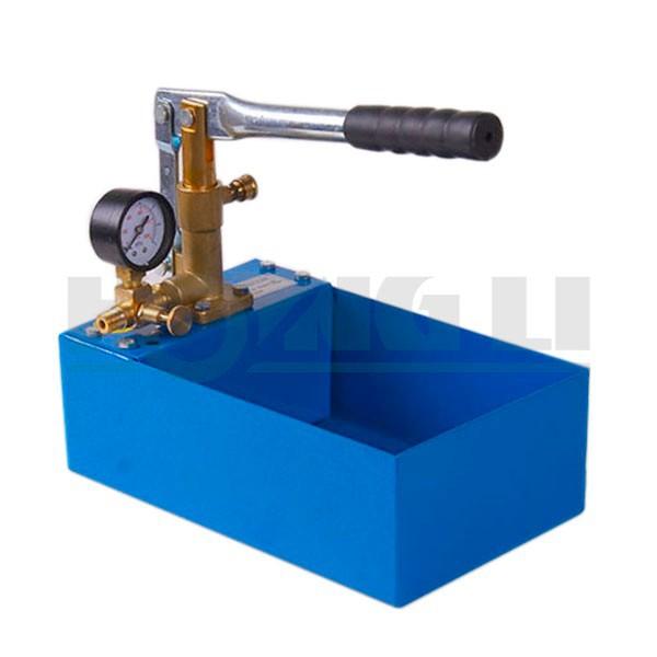Flujo 2.5MPa Hidr/áulico Presi/ón Bomba de Prueba de Presi/ón herramienta manual de prueba de Agua Tuber/ía Prueba Bomba 13ml tiempo