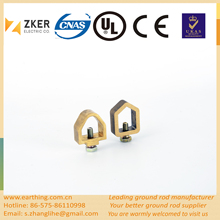 Brass acorn shaped ground Clamp earth ground Clamp