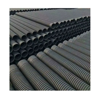 18 Inch Plastic Culvert Pipe Hdpe Corrugated Pipe Prices