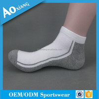 China Custom ankle socks with logo knitted basketball socks