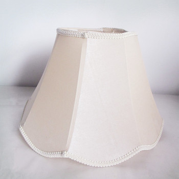 Folding Lamp Shades In Bell And Flower Shape For Table Light