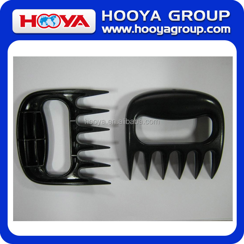 High Quality Food Safe Picnic Bear Meat Claws Set, Meat Shredder Pulled Pork Claws For BBQ ,Wholesale Meat Mincer Handler