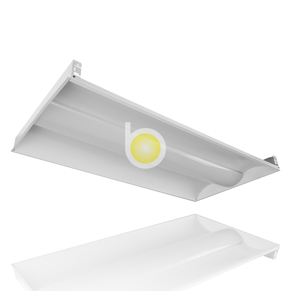 Recessed Led Indirect Lighting 36w Fluorescent Light Fixture Office Ceiling Commercial